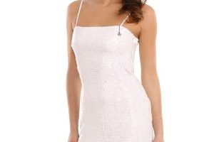 Robe guess solde blanche