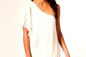 Robe de cocktail chic noire ou creme
